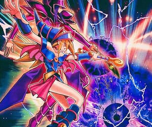 anime, konami, and yugi image