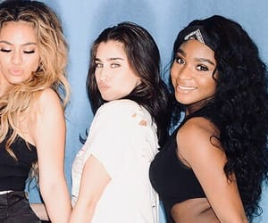 lauren jauregui, fifth harmony, and normani kordei image