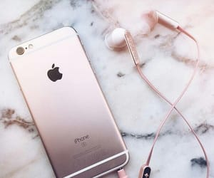iphone, tumblr, and rose gold image