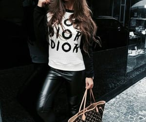 dior, fashion, and street style image