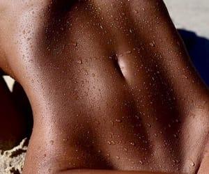 beach, tan, and body image