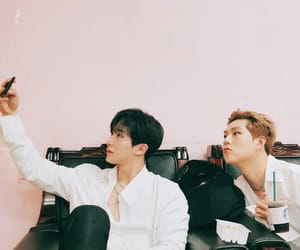 monsta x, wonho, and jooheon image