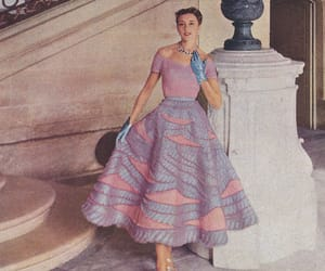 1950's, 1952, and fashion image