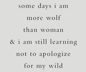 quotes, wolf, and words image