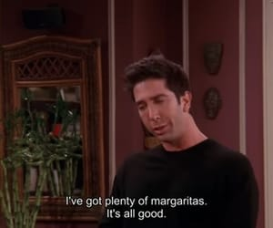 ross, friends, and funny image