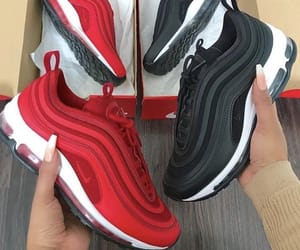 nike, black, and red image