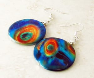 etsy, easter gift, and hippie earrings image