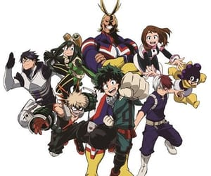 all might, boku no hero academia, and my hero academia image