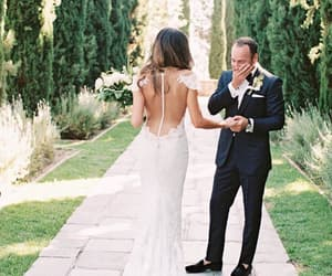 backless, garden, and wedding image