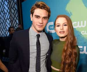 riverdale, kj apa, and madelaine petsch image