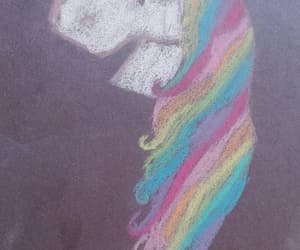 colors, unicorn, and draw image