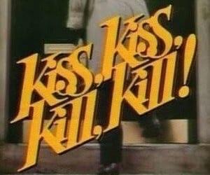 kiss, yellow, and kill image