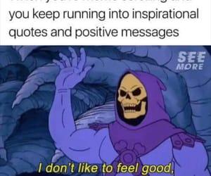 evil, memes, and skeleton image