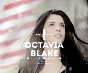 tv show, the 100, and octavia blake image