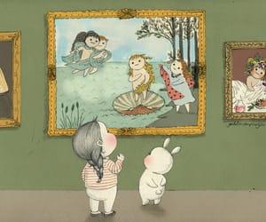 art, bunny, and chubby image