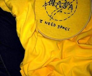 yellow, aesthetic, and nasa image