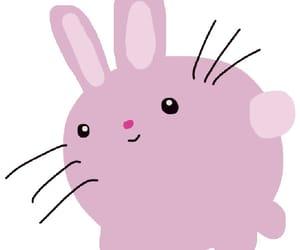 adorable, bunny, and art image
