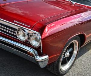 cars, maroon, and vintage image