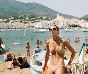 beach, fashion, and fun image