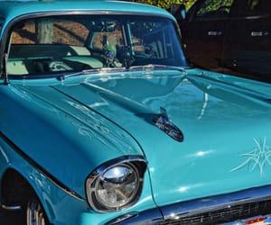 blue, vintage, and azúl image