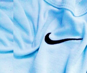 blue, nike, and aesthetic image