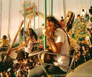 vintage, carnival, and girl image