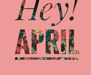 aesthetic, april, and art image