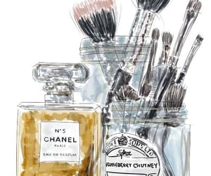 chanel, maquillaje, and perfume image