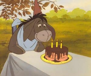 disney, birthday, and cake image