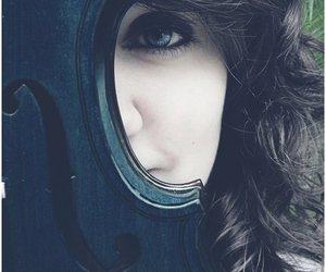 blue, blue eyes, and girl image