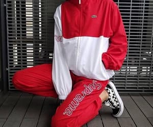 supreme, vans, and lacoste image