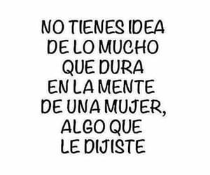 frases, mente, and mujer image