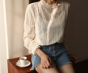 asian fashion, blouse, and cherrykoko image