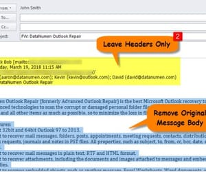 outlook vba, outlook email, and message headers image