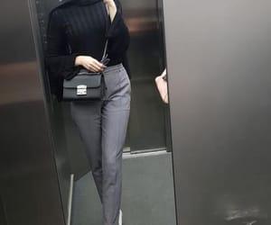 casual, hijâbi, and fashion image