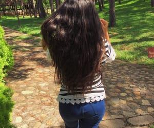 belleza, goals, and hair long image