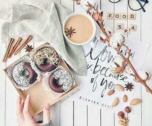 aesthetic, sweets, and coffee image