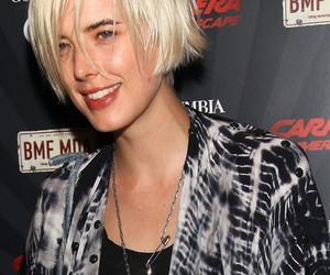 agyness deyn, androgynous, and platinum blonde image