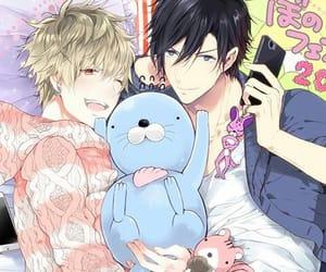 manga, yaoi, and +18 image