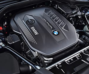 bmw and 5series image