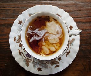 tea, coffee, and milk image