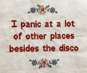 panic! at the disco, quotes, and panic image