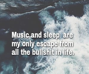 blue, music, and qoutes image