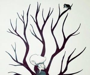 bird, style, and creepypasta image