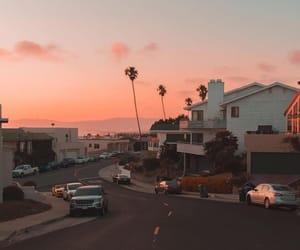 buildings, la, and california image