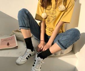 asian fashion, korean fashion, and outfit image