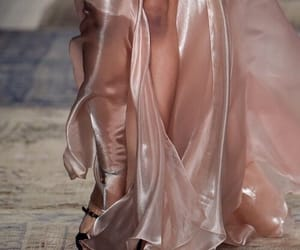 dress, pink, and transparent image