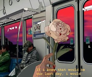 rose, art, and aesthetic image