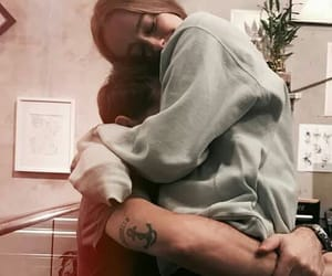 abraco, hug, and casal image