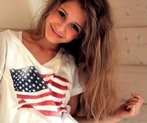 girl, hair, and usa image